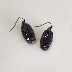Kendra Scott Gunmetal Danay Earrings